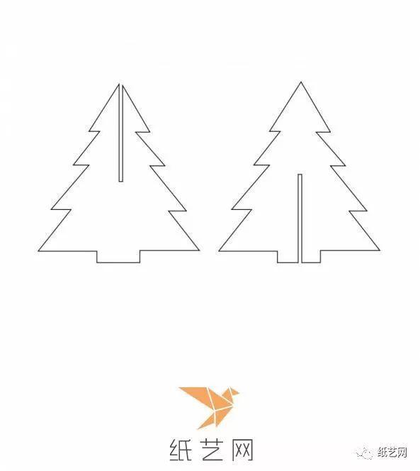 主要材料: 卡纸, 所需工具: 剪刀,直尺, 制作步骤: 第1步:立体剪纸