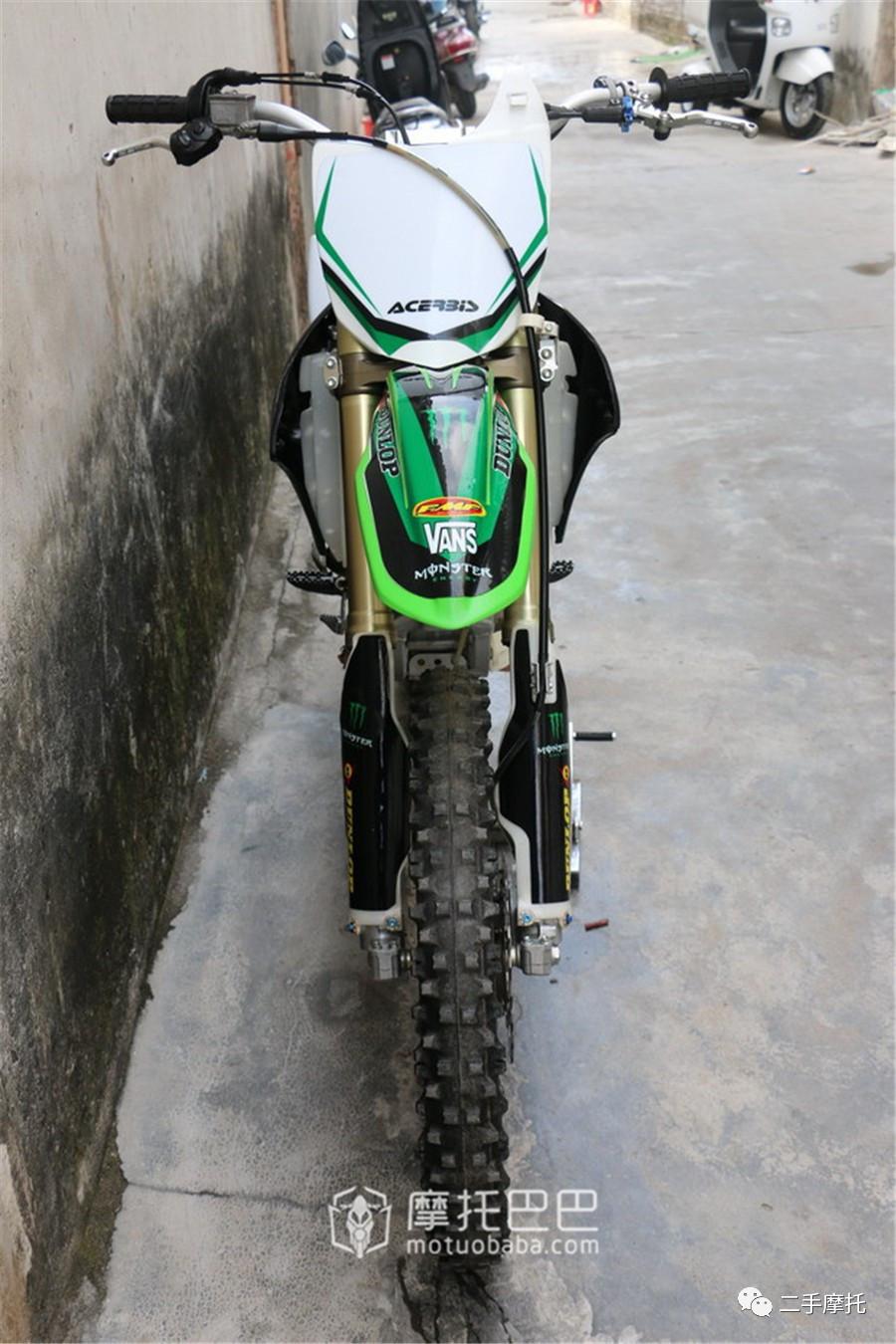 二手摩托 川崎 kx 250f 专业版场地越野摩托车-摩托巴