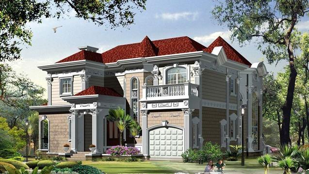 农村3层房屋设计图