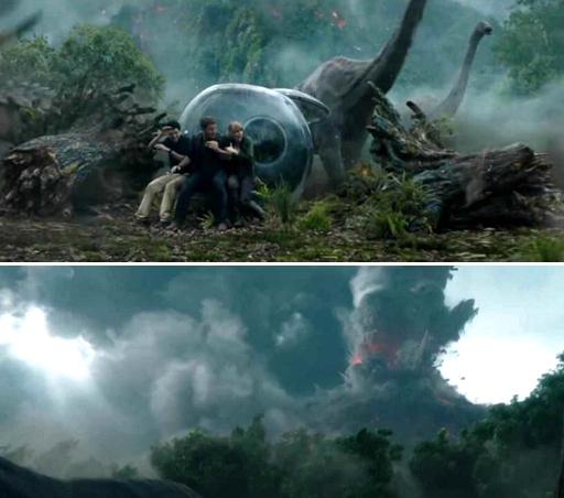 《侏罗纪世界2》先行预告曝光 火山爆发场面惊人_搜狐娱乐_搜狐网