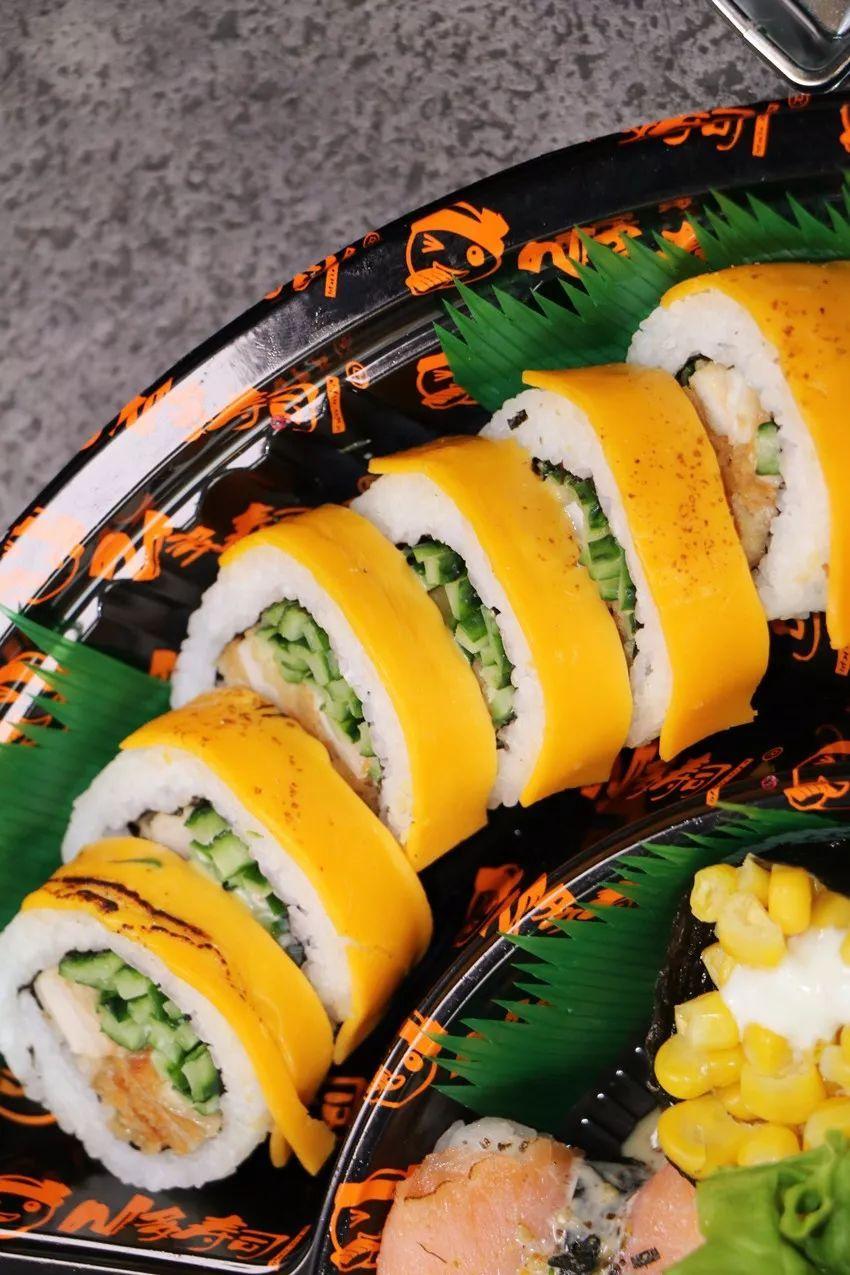青岛寿司外卖界的扛把子,一天买出1000份 现在又要放大招了