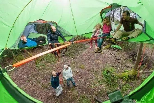 露营的最高境界!