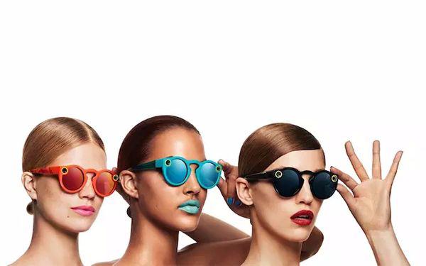 snapchat 推出首款太阳眼镜 spectacles