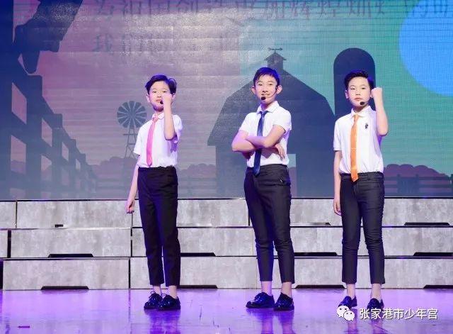 童心里的诗篇 张家港市少年宫语言社团汇报展示成功举行