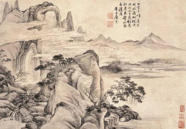 最出名的画家_当代山水画名家展在北京三希堂艺术院开幕