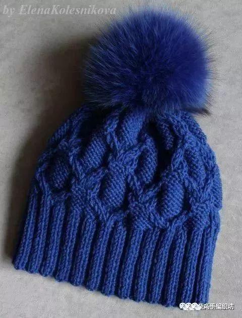 时尚 正文  我们来学习一下帽子的织法 可以量一下头围再起针 ▼ 帽子