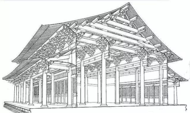 中国古代房屋室内手绘