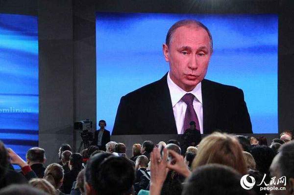 普京宣布参与2018年俄总统大选 高度评价民众信任和支持