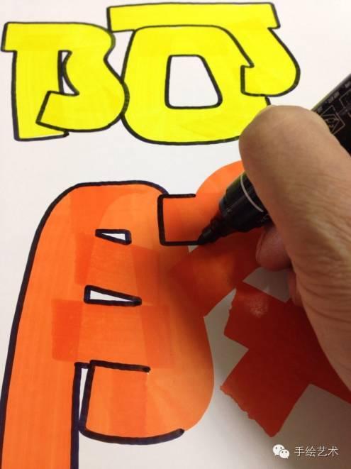 【手绘pop教程】周道湘老师教你如何绘制《阿胶》的海报,很不错的教程