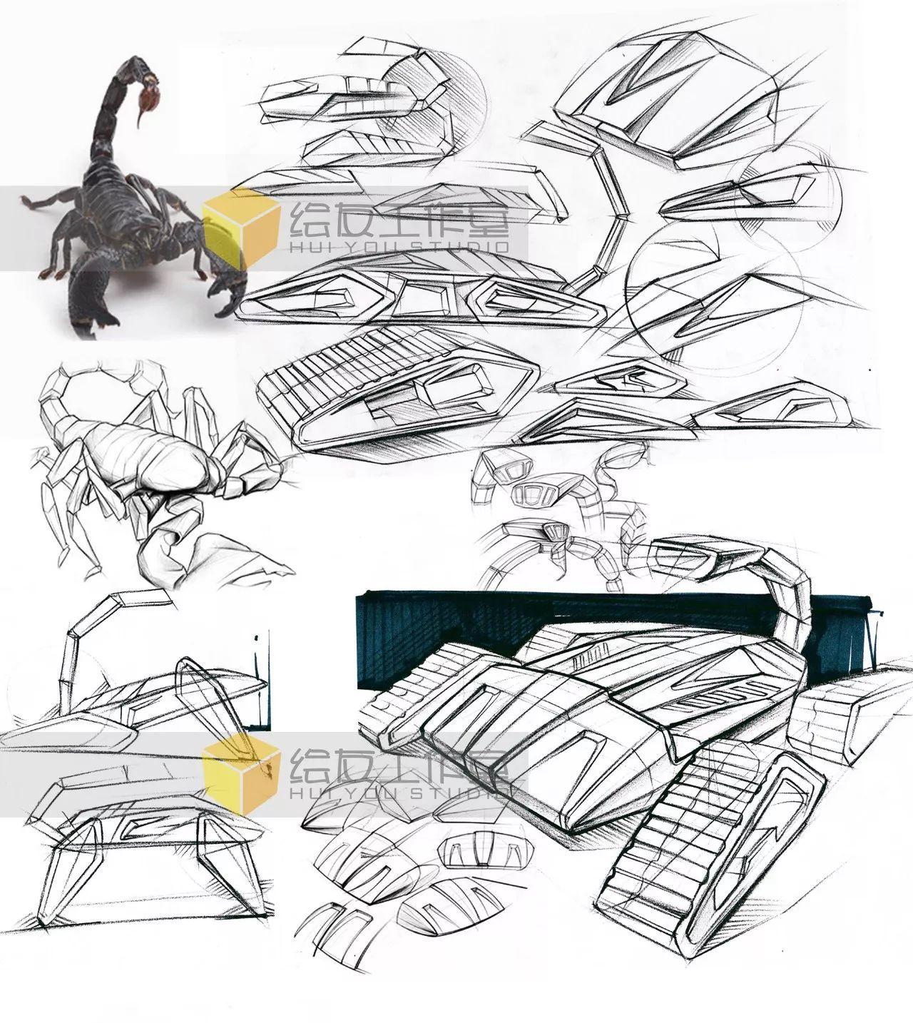 【福利】绘友程业帅最新产品手绘图