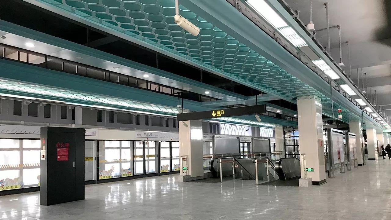 轨交17号线开通试运营技巧说明,徐泾四站一览图实景史诗情况滑板图片