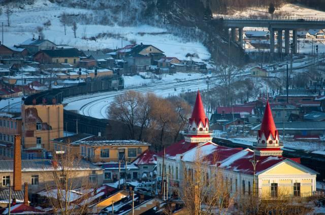 东北竟有座火车拉来的小俄罗斯,低调却登上美国国家地理