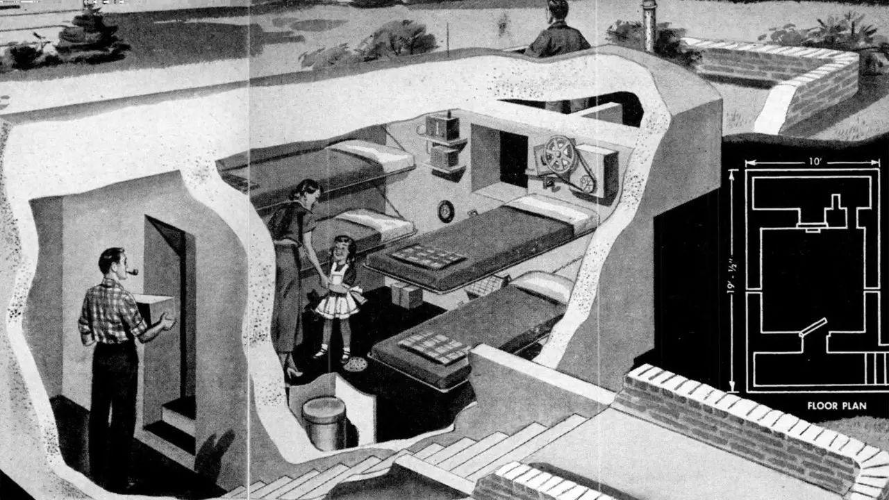 抗辐射的避难所