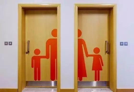 世界各地的男女厕所标志,一不小心可能会走错