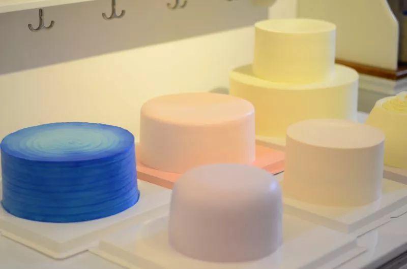 """完美""""底妆""""蛋糕如何抹出翻糖皮般的淡奶油抹面(蓝风车版"""