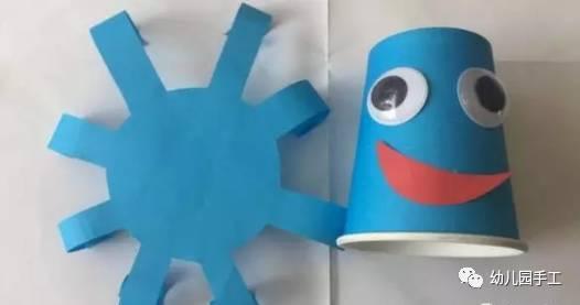 幼儿园创意手工制作螃蟹,美美哒!