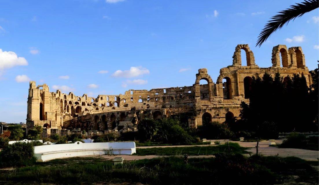 埃尔.杰姆斗兽场,展现古罗马帝国统治突尼斯时期的辉煌