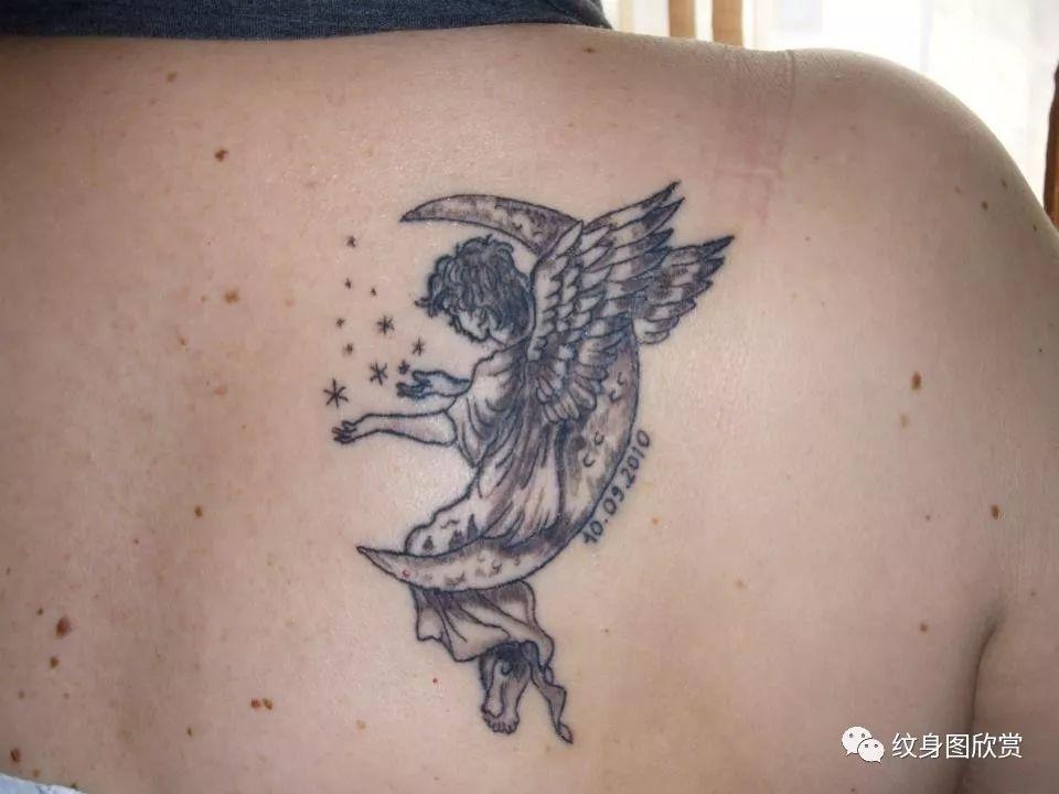 天使纹身图案【118张】