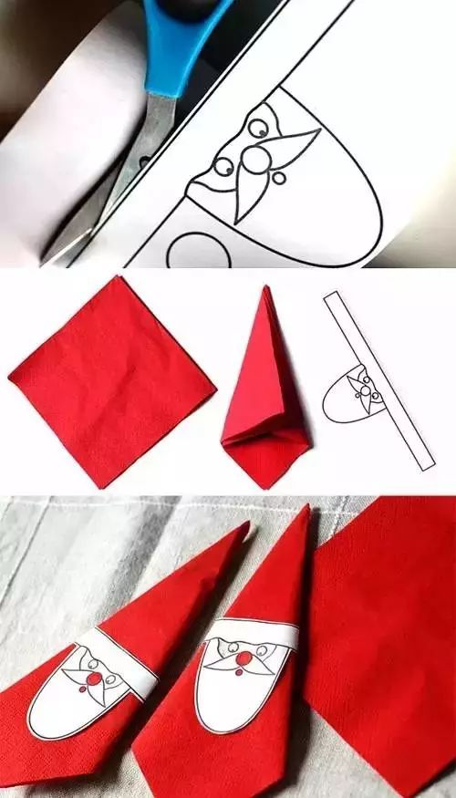 diy餐巾纸手工制作大全