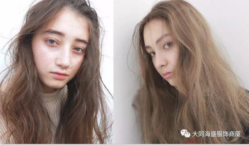 亞洲色_金色和红色的新发色,色泽低调自然,非常显白,很适合亚洲女孩儿.