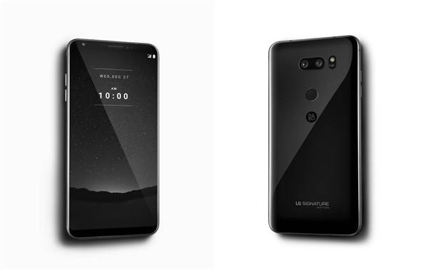 LG 首款 Signature 豪华手机比 iPhone X 还贵,韩国限量发售