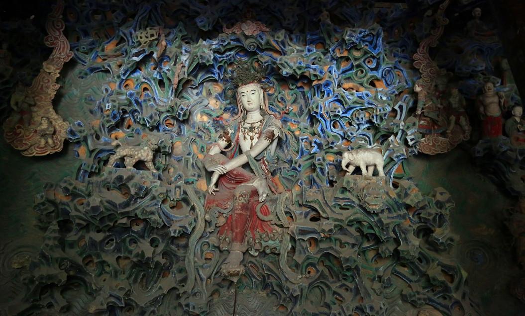 藏匿县城的千年古刹,康熙皇帝赐名,珍藏6大国家宝藏