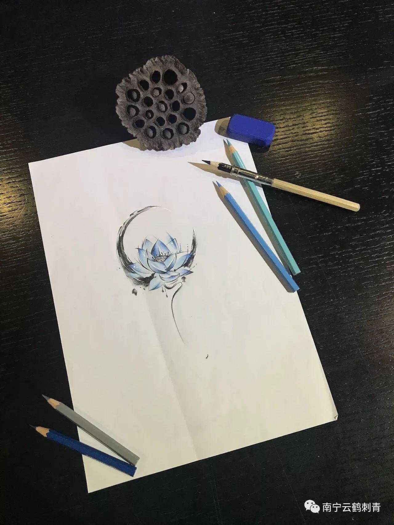 云鹤刺青2018年收费明细之玫瑰