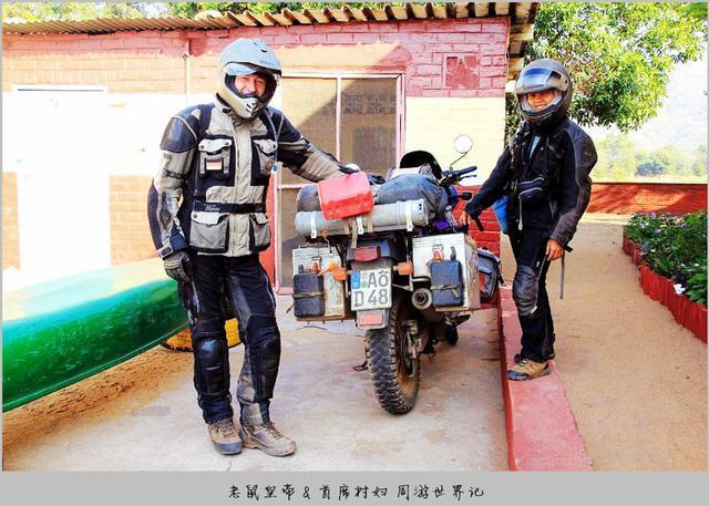 德国丈夫菲律宾妻子,边打工边旅行,誓言骑摩托车周游世界