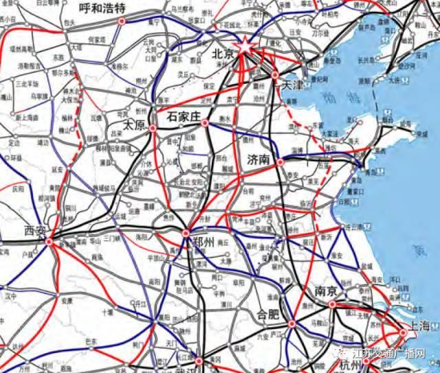 淮安—扬州—南通——接上海 以后淮安人可以直刺去北京上海啦 小伙伴
