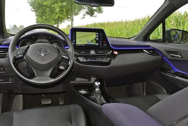 还打算买缤智?网友实拍丰田C-HR测试车,明年国产或13万起