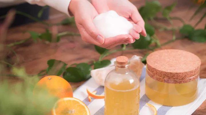 柚子皮别扔教你们做瓶超润的沐浴露