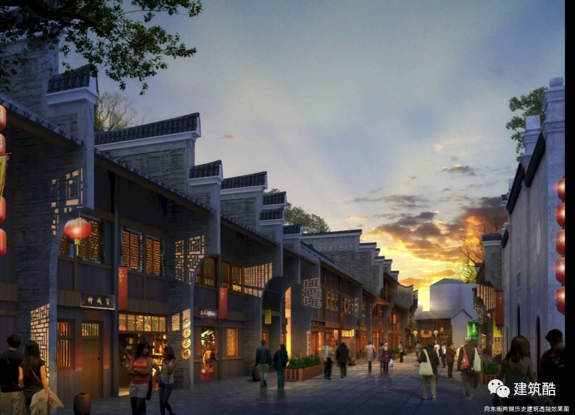 中式仿古商业街方案设计合集(文本 cad)图片