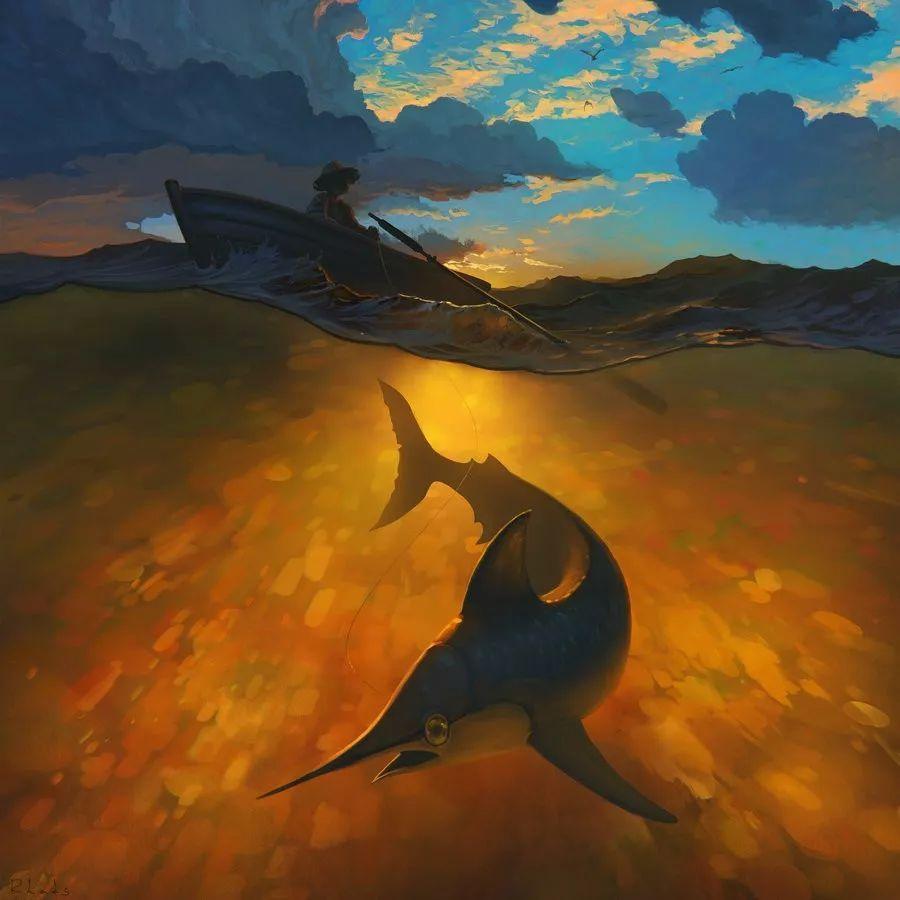 值得看十遍的奥斯卡获奖短片 老人与海