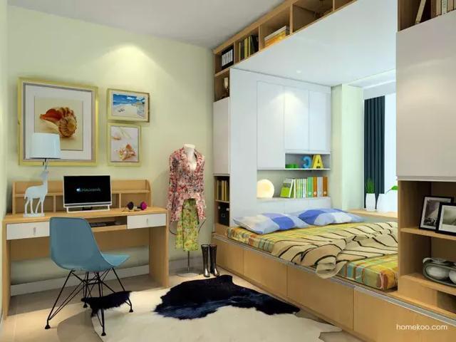 24平米主卧室设计图片