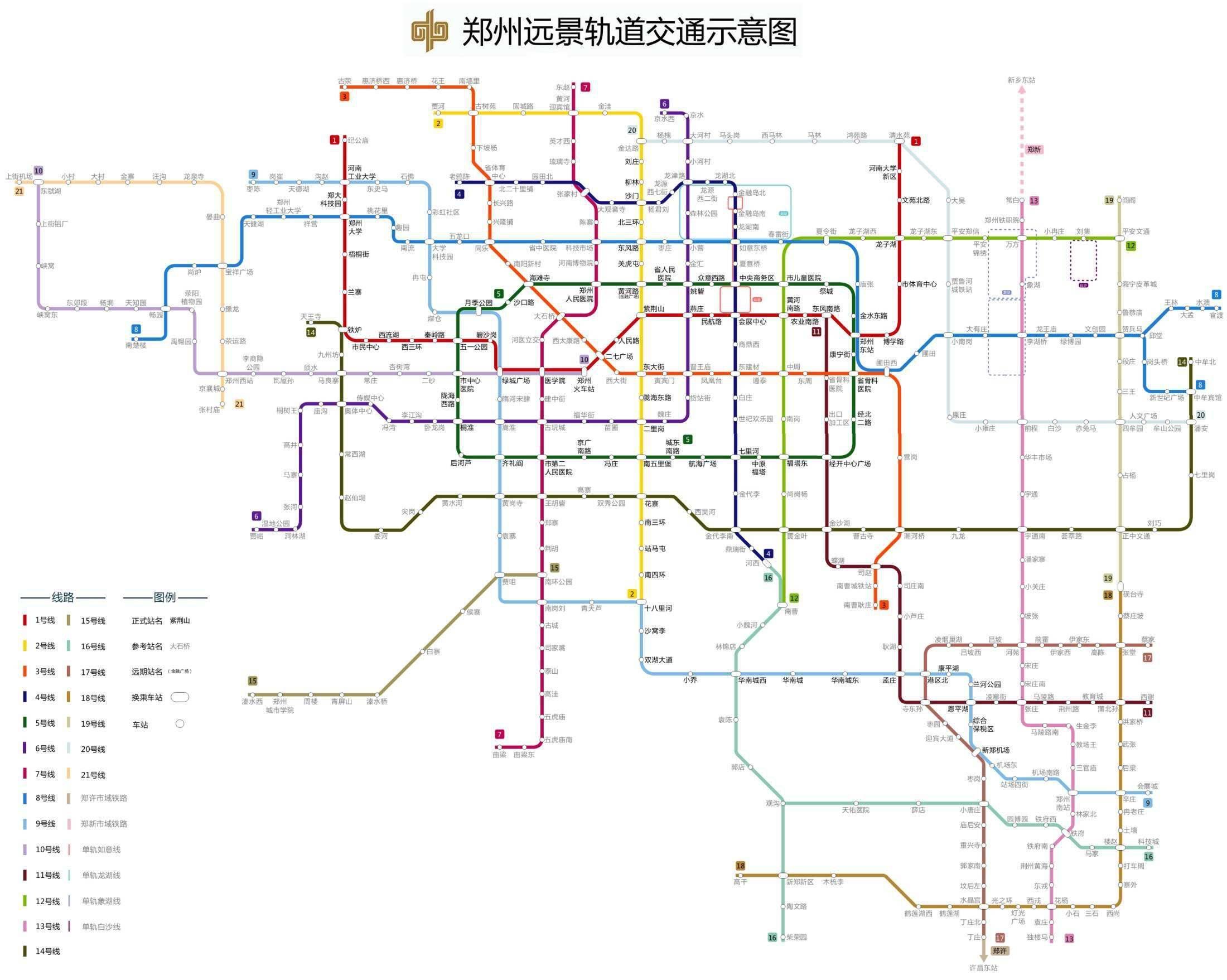 2030年郑州什么样?图片