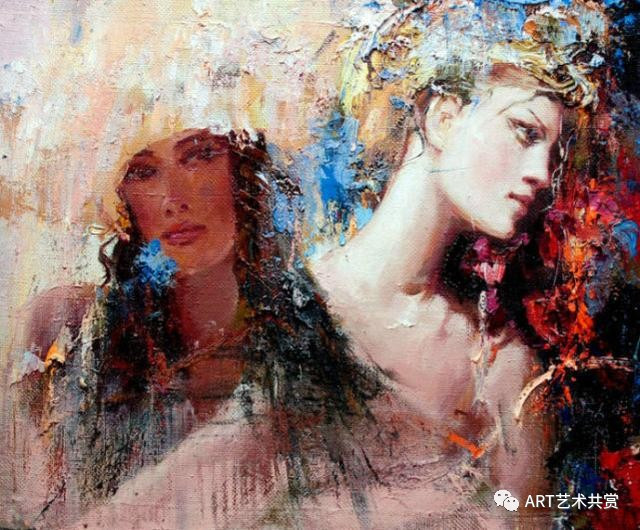 www巴巴人体艺术_俄罗斯画家巴甫洛夫人体油画欣赏,大胆奔放,色彩艳丽!