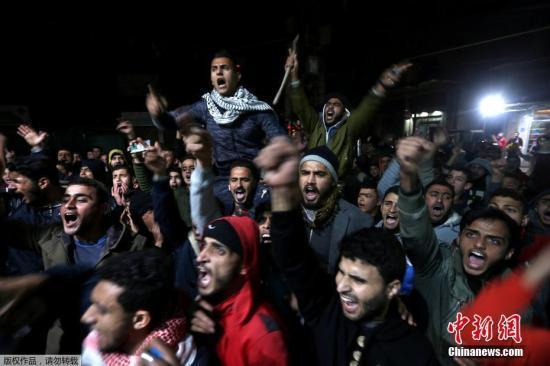 外媒:巴勒斯坦拒绝接待计划到访的美国副总统