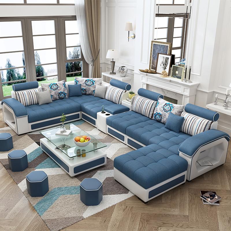 传统的沙发已过时,今年超流行这样的沙发,让客厅看起来更豪华图片
