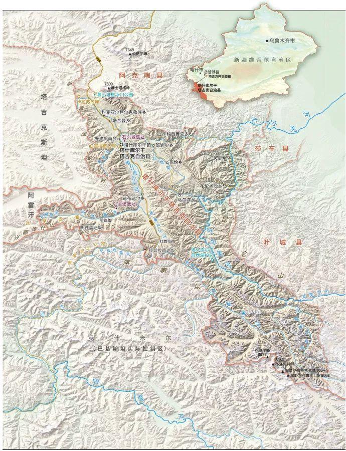 """中国最""""牛""""的县,雪山环抱,一县对三国,世居着纯种白人「塔吉克族」"""