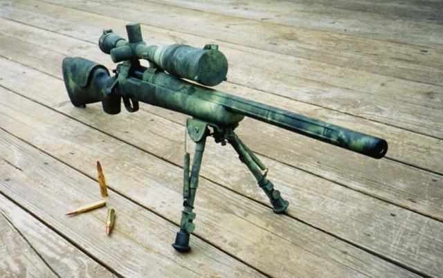 ...为人知的高精度狙击步枪 比中国最好狙击步枪强三倍