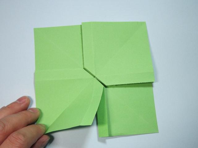 手工折纸 蝴蝶结的折法详细步骤图解