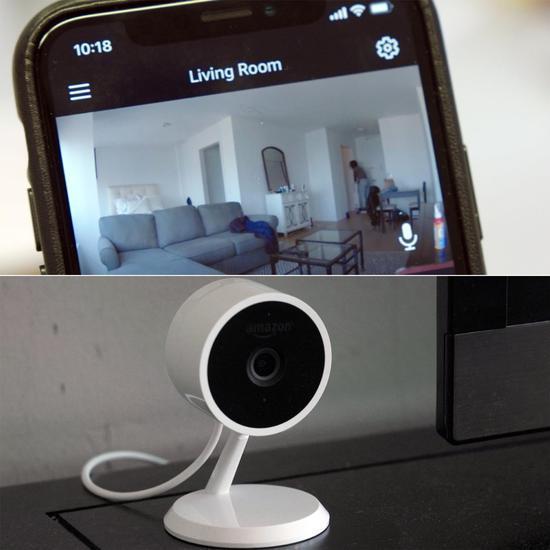 亚马逊的cloud cam 监控摄像头和相配的应用 在办公室的时候,我不停