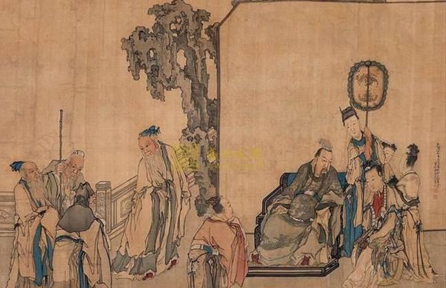 刘盈能稳坐太子之位,真的是靠 商山四皓 的出现么