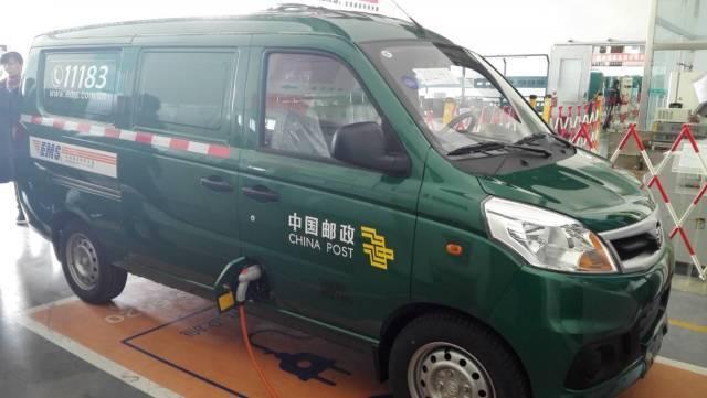进一步拓展合作新领域福田汽车与中国邮政签署190纯电动物流车订单