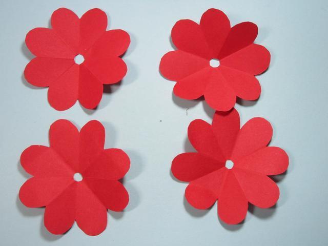 儿童手工折纸 玫瑰花的折法步骤图解