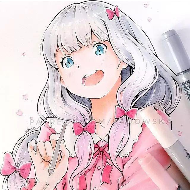 小清新的美少女漫画,拿去做头像吧!_搜狐动漫_搜狐网