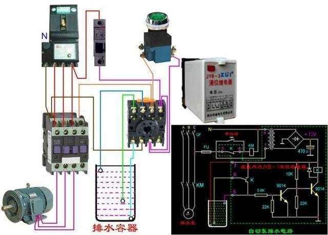 三相四线电表 以上两个电表接线的关键是:注意互感器的接线.