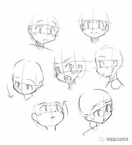 「推荐」q版漫画人物手绘自学教程之动态姿势