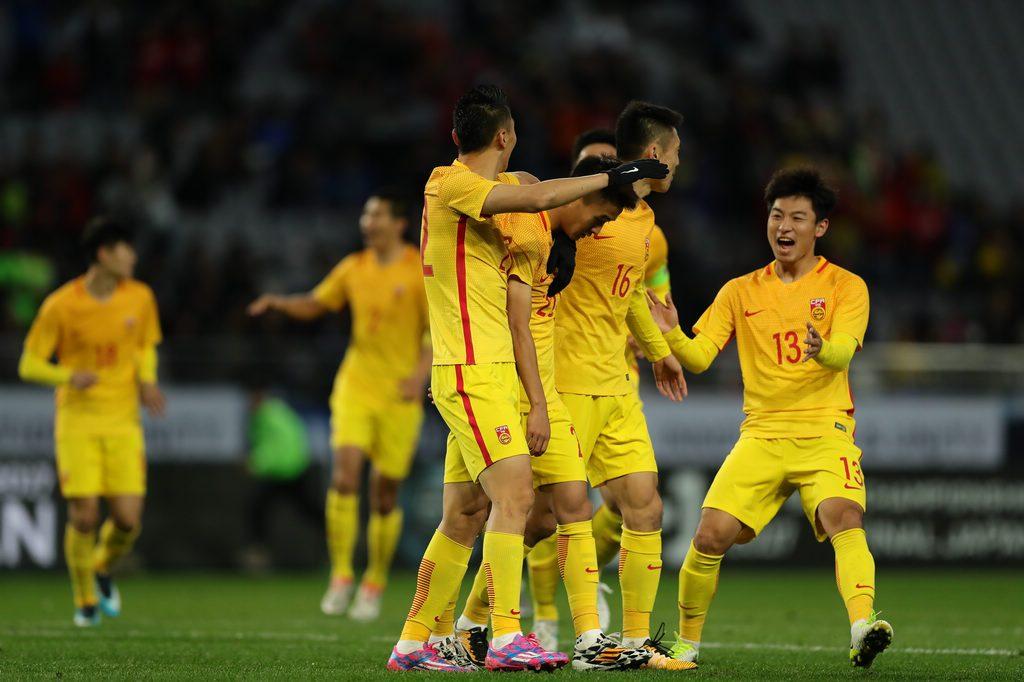 韩国0失球豪言8分钟被破 里皮:U23不算年轻球员