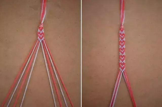 必学的毛线手工编织手链教程 上(详细图解)